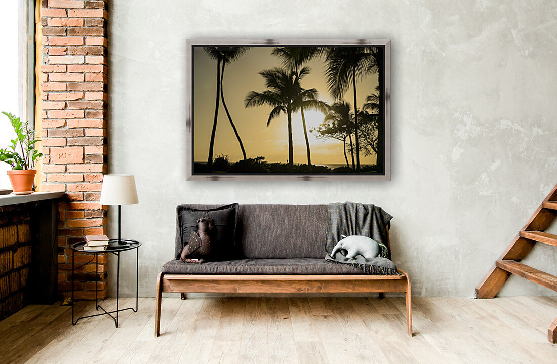 Through the Palms  Art