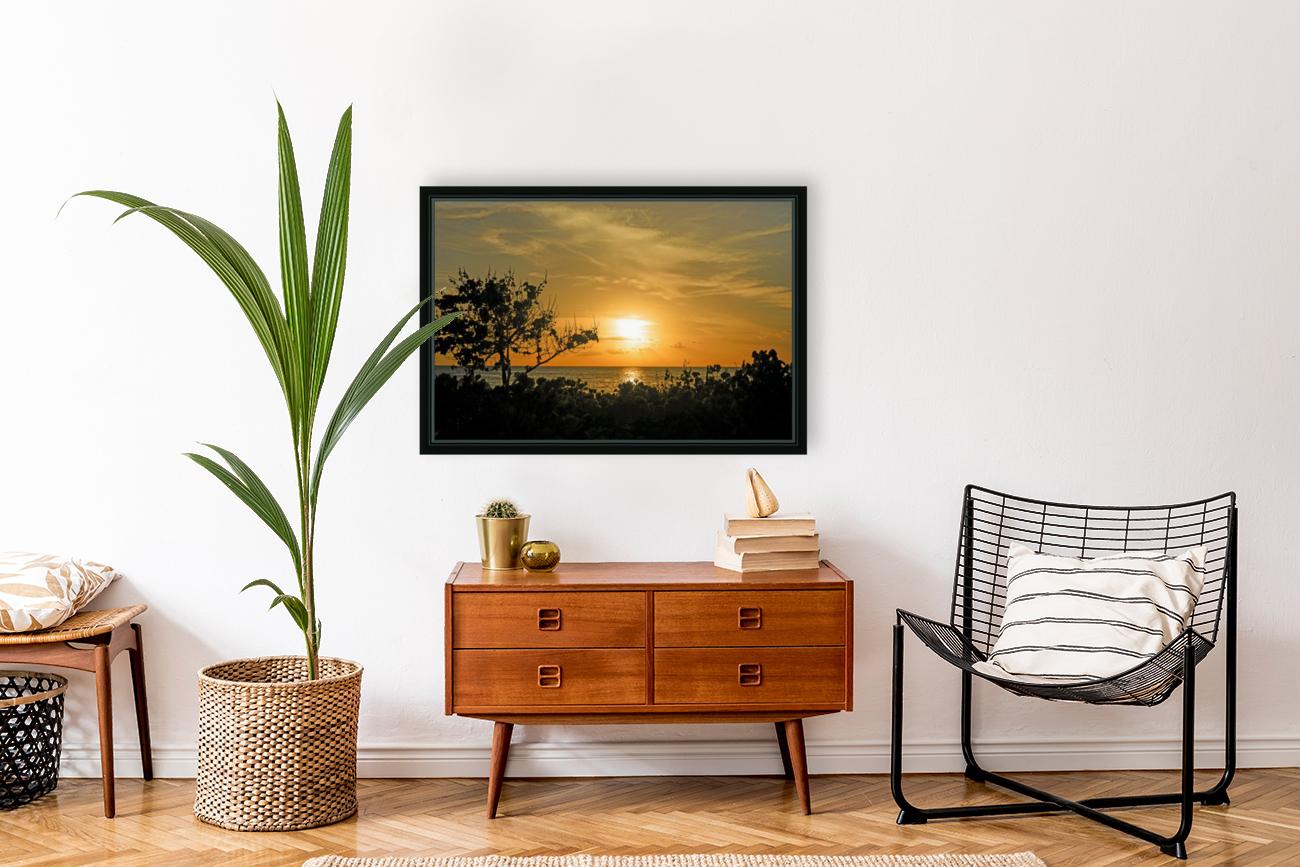 Delicate - Sunset Hawaiian Islands  Art