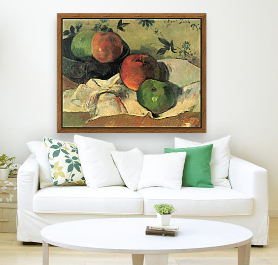 Still Life by Gauguin with Floating Frame