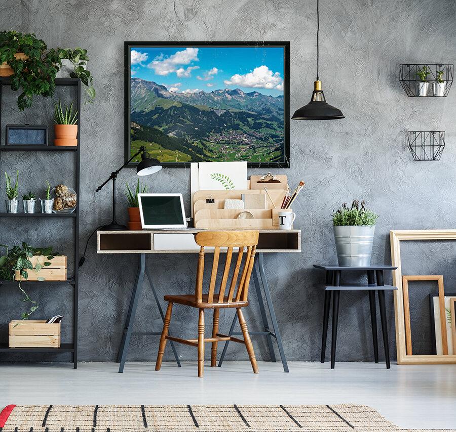 The Bernese Alps Switzerland  Art
