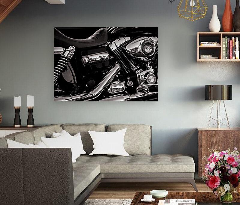Motorcycle Number 1  Art