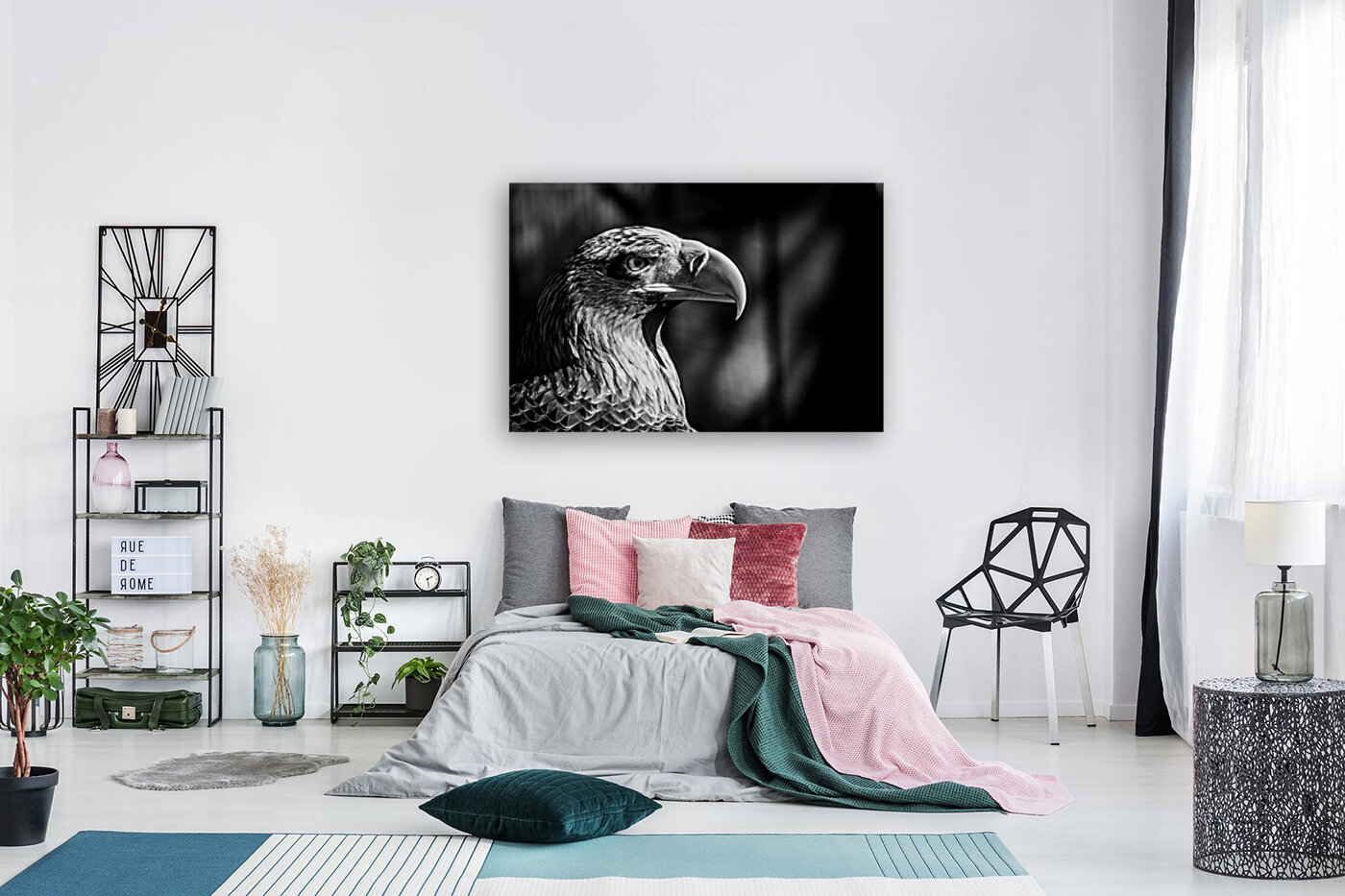 Eagle ap 2046 B&W  Art