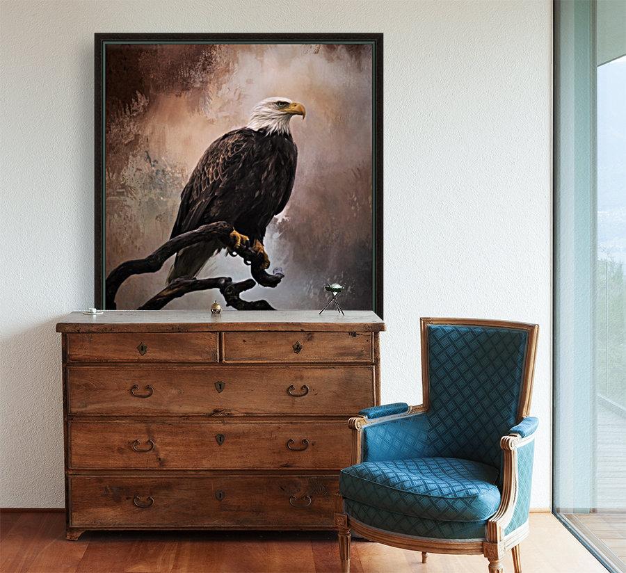 Looking Forward - Eagle Art by Jordan Blackstone  Art