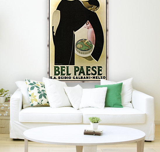 Bel Paese with Floating Frame