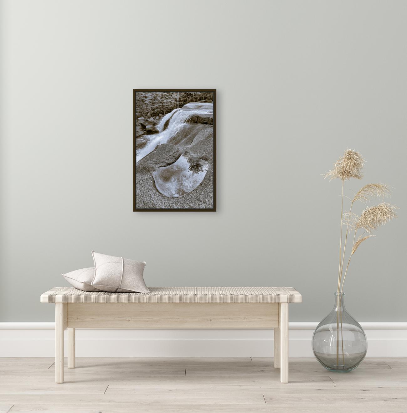 Waterfall ap 2212 B&W  Art