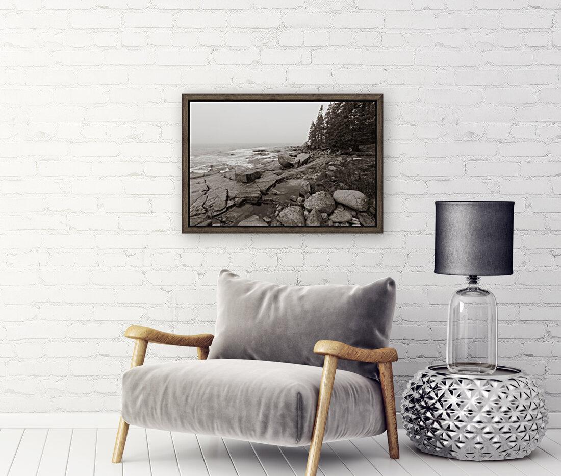 Boulders ap 2256 B&W  Art
