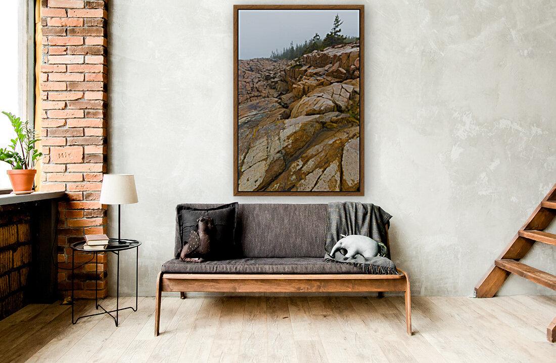Granite Boulders ap 2270  Art