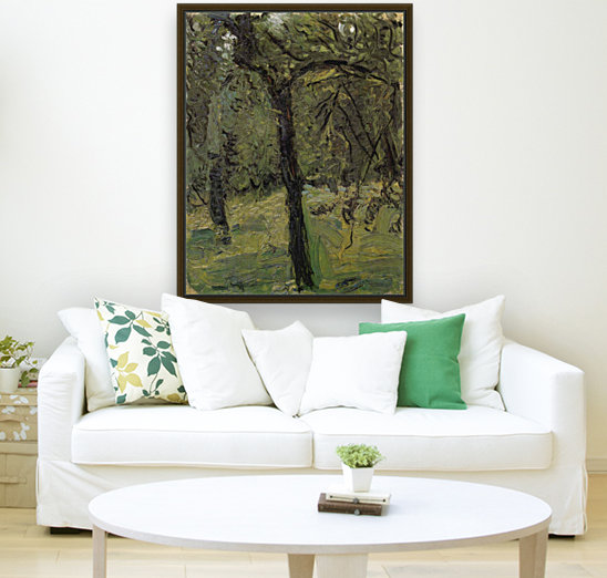 Sunny Meadow with fruit trees by Richard Gerstl  Art