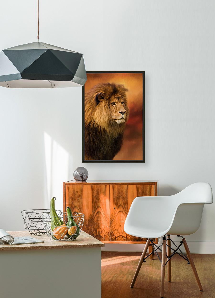 Lion Legacy - Lion Art by Jordan Blackstone  Art