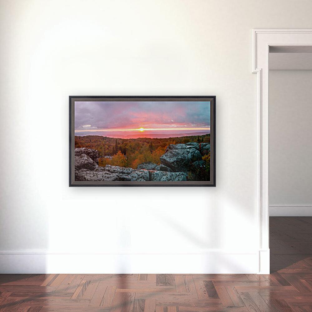 Bear Rocks at Sunrise apmi 1754  Art