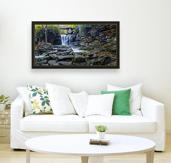 Elakala Falls and Bridge apmi 1775  Art