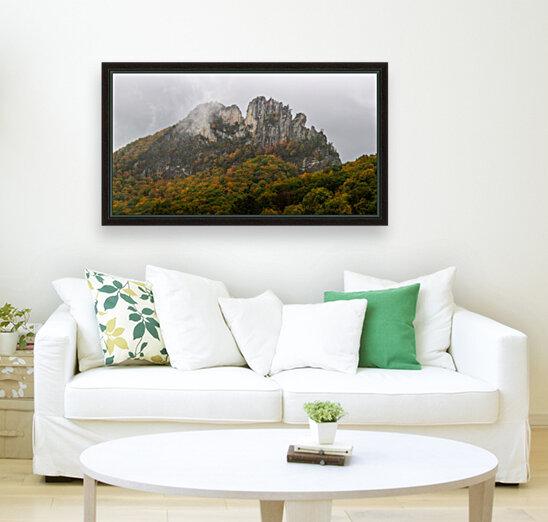 Seneca Rocks apmi 1881  Art