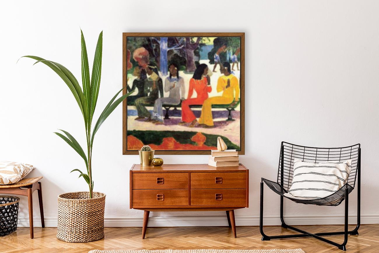 Ta Matete by Gauguin  Art