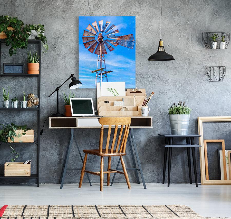 Uncle Sams Windmill  Art