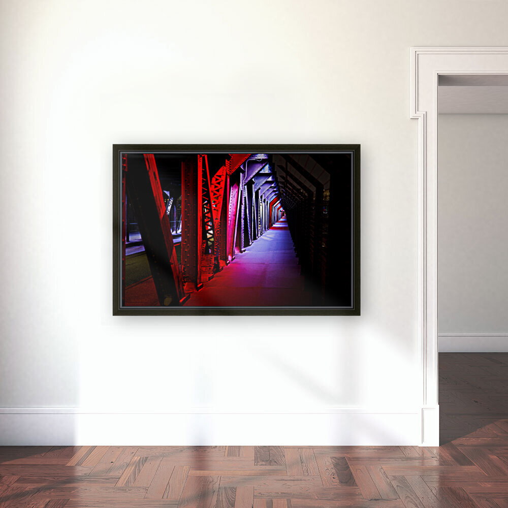 Tunnel of Red Rain  Art
