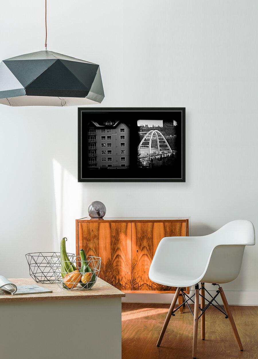 Building and Bridge  Art