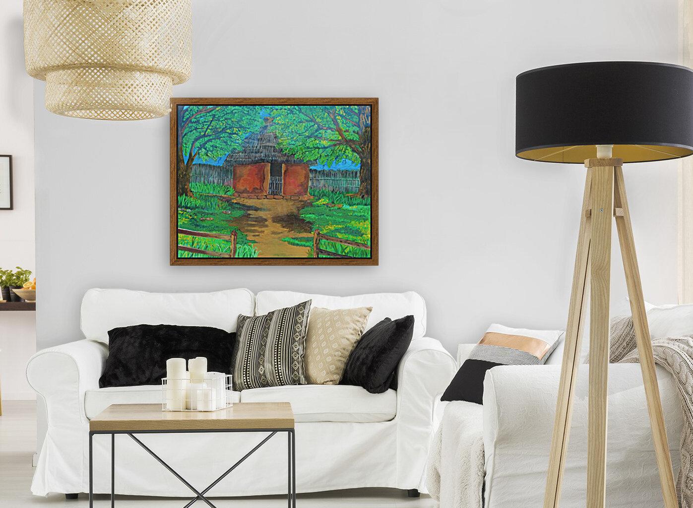 Hut  Art