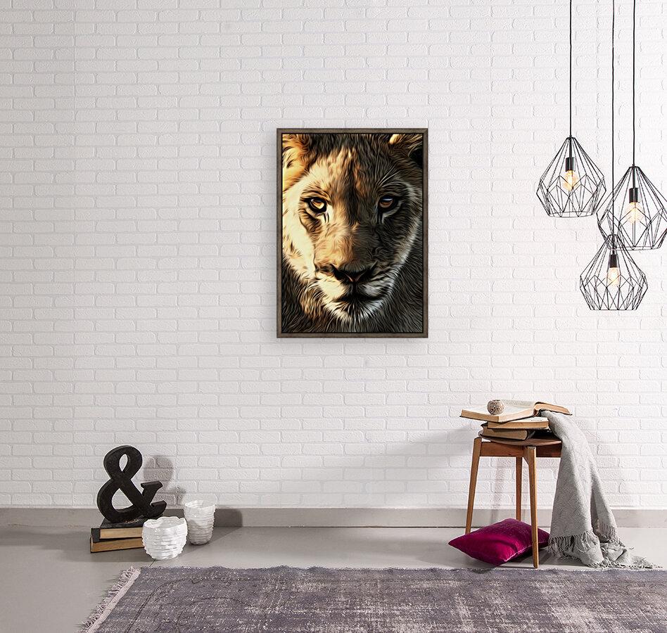Lions Head  Art