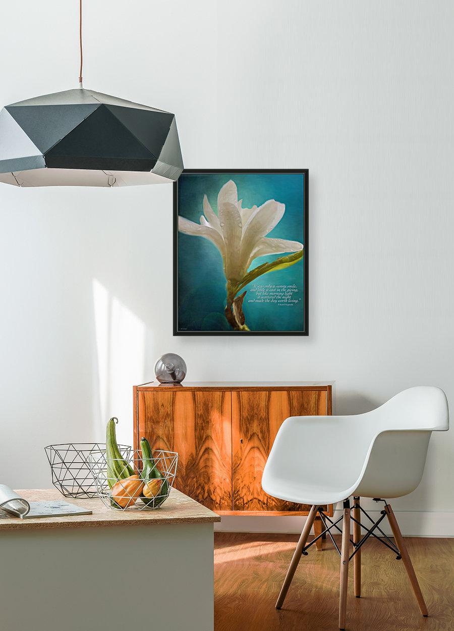 Like Morning Light - Flower Art by Jordan Blackstone  Art