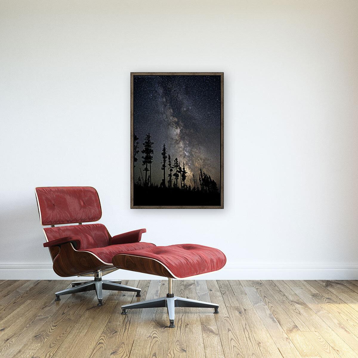 Yellowstone Milky Way  Art