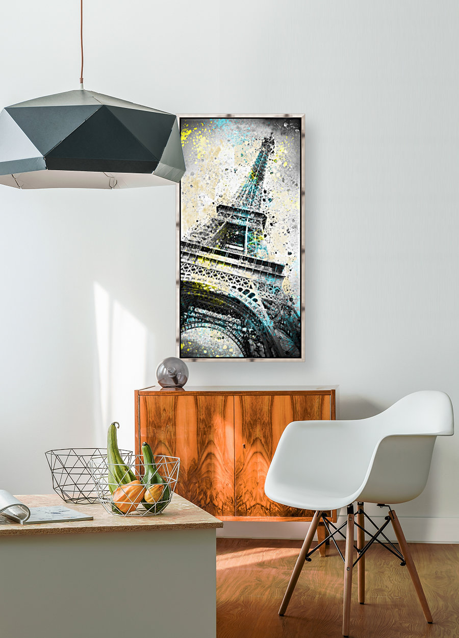 City-Art PARIS Eiffel Tower IV with Floating Frame
