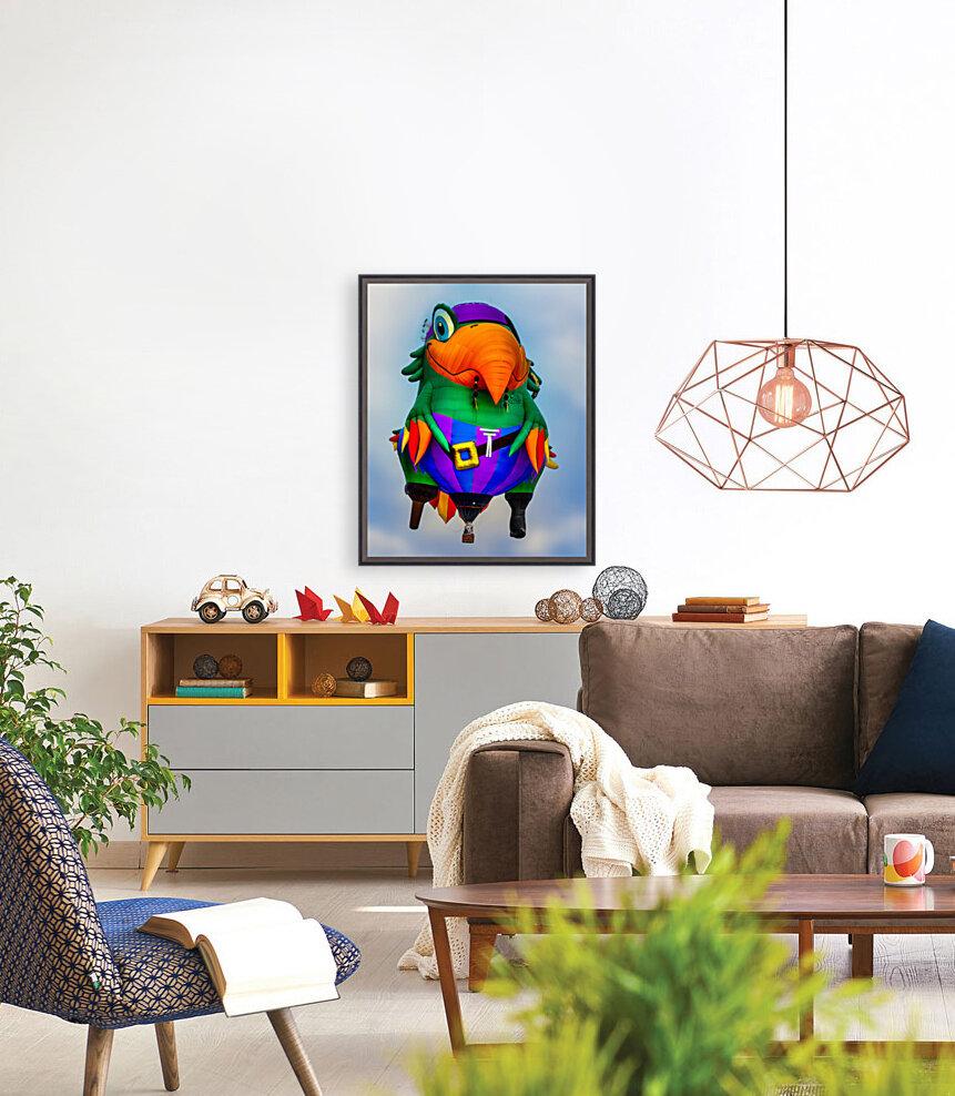 Pirate Parrot Adventures  Art