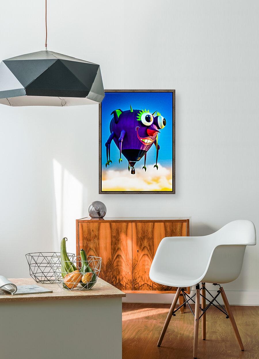 Flying Purple People Eater  Art