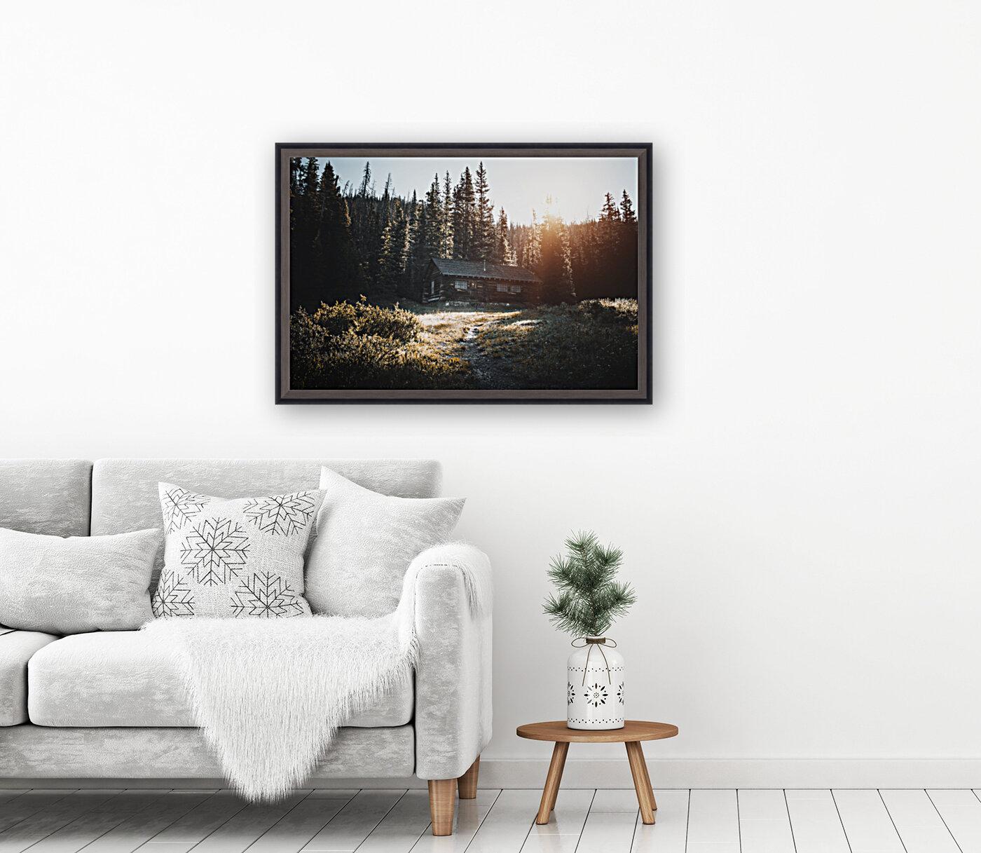 Rocky Mountain Cabin  Art