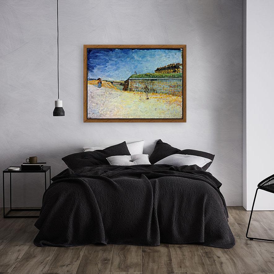 The Ramparts of Paris2 by Van Gogh  Art