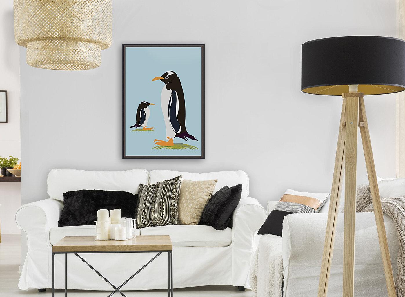 Gento Penguin  Art