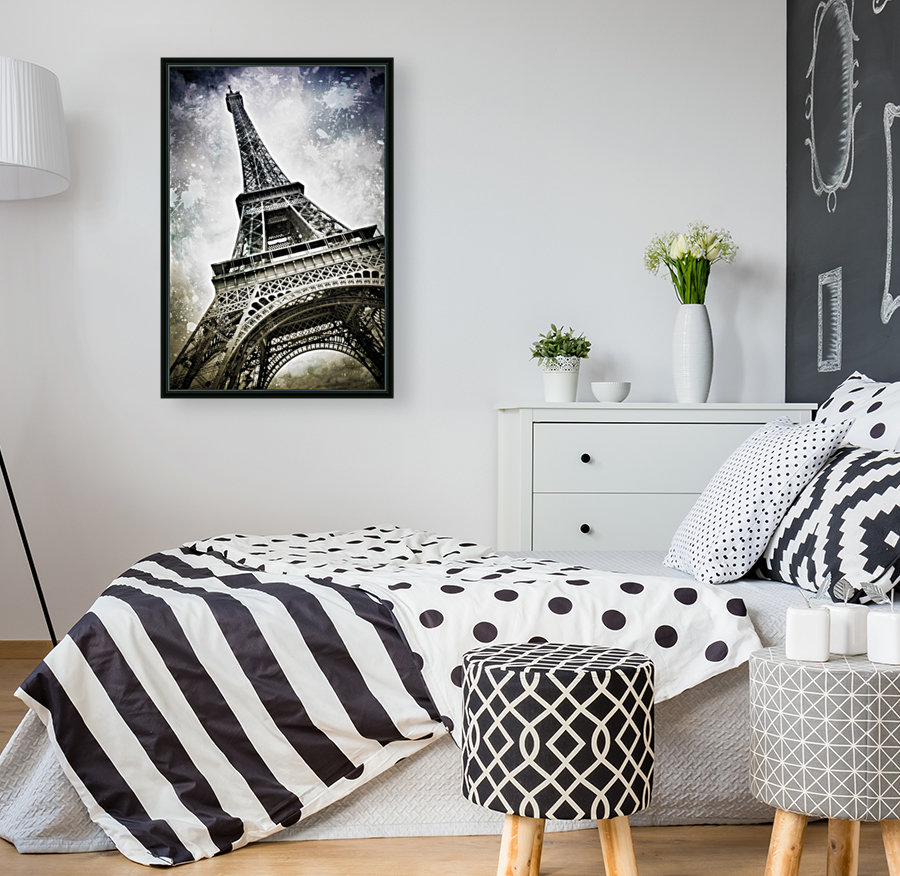 Modern-Art PARIS Eiffel Tower Splashes  Art