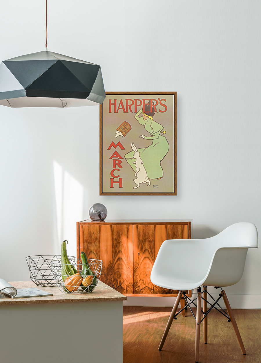 Harpers March Edward Penfield Mini Poster  Art