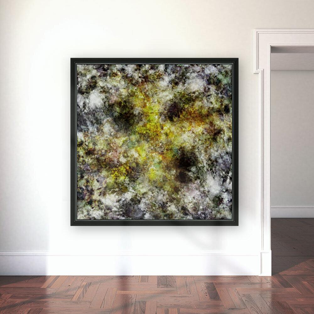 Heading into the yellow storm  Art