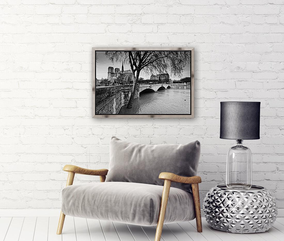 Seine river flood  Art