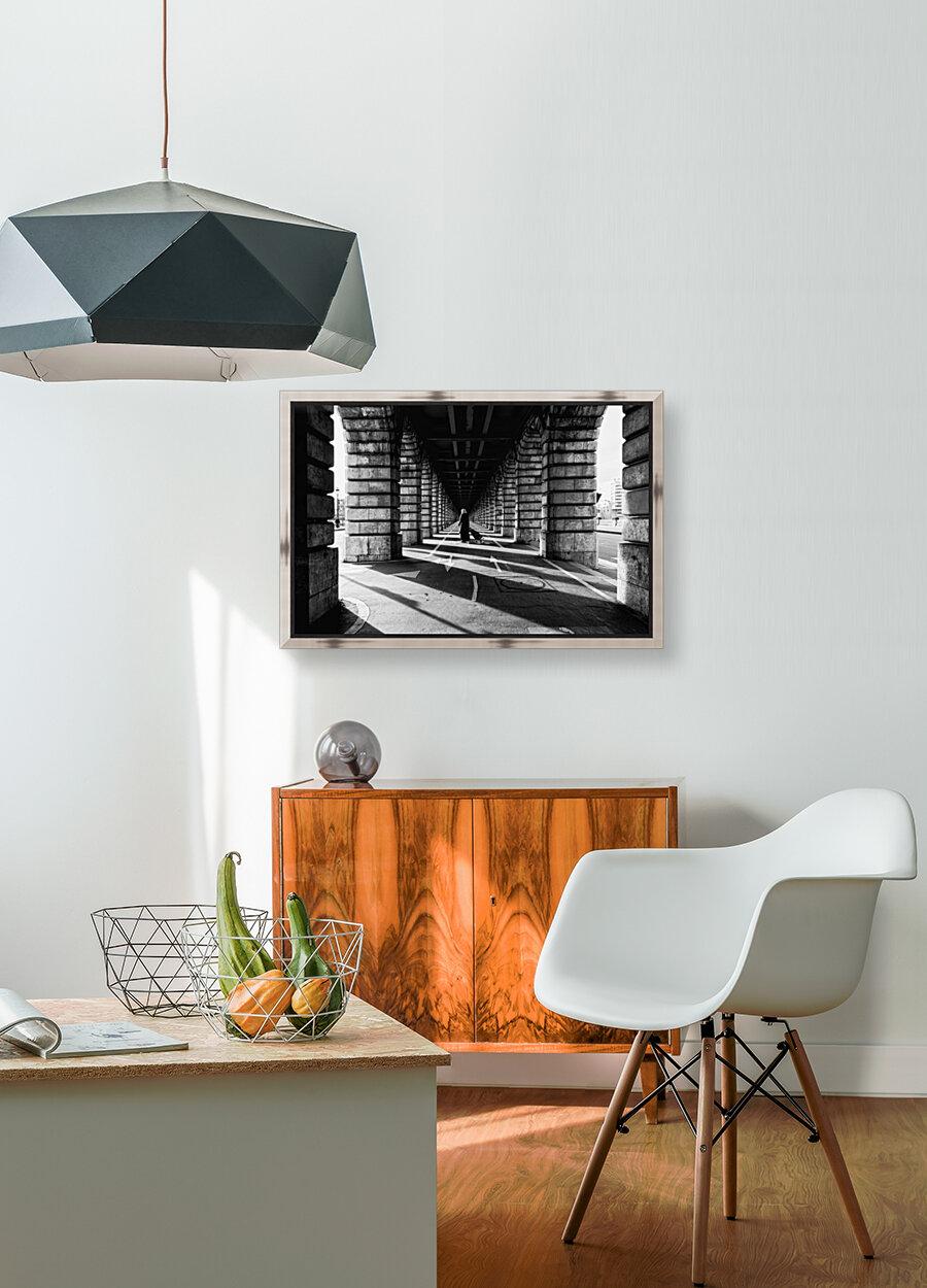 Bercy bridge  Art