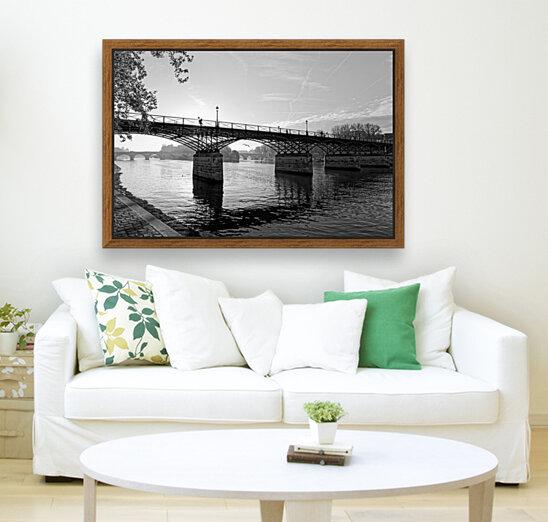 Pont des arts sunrise  Art
