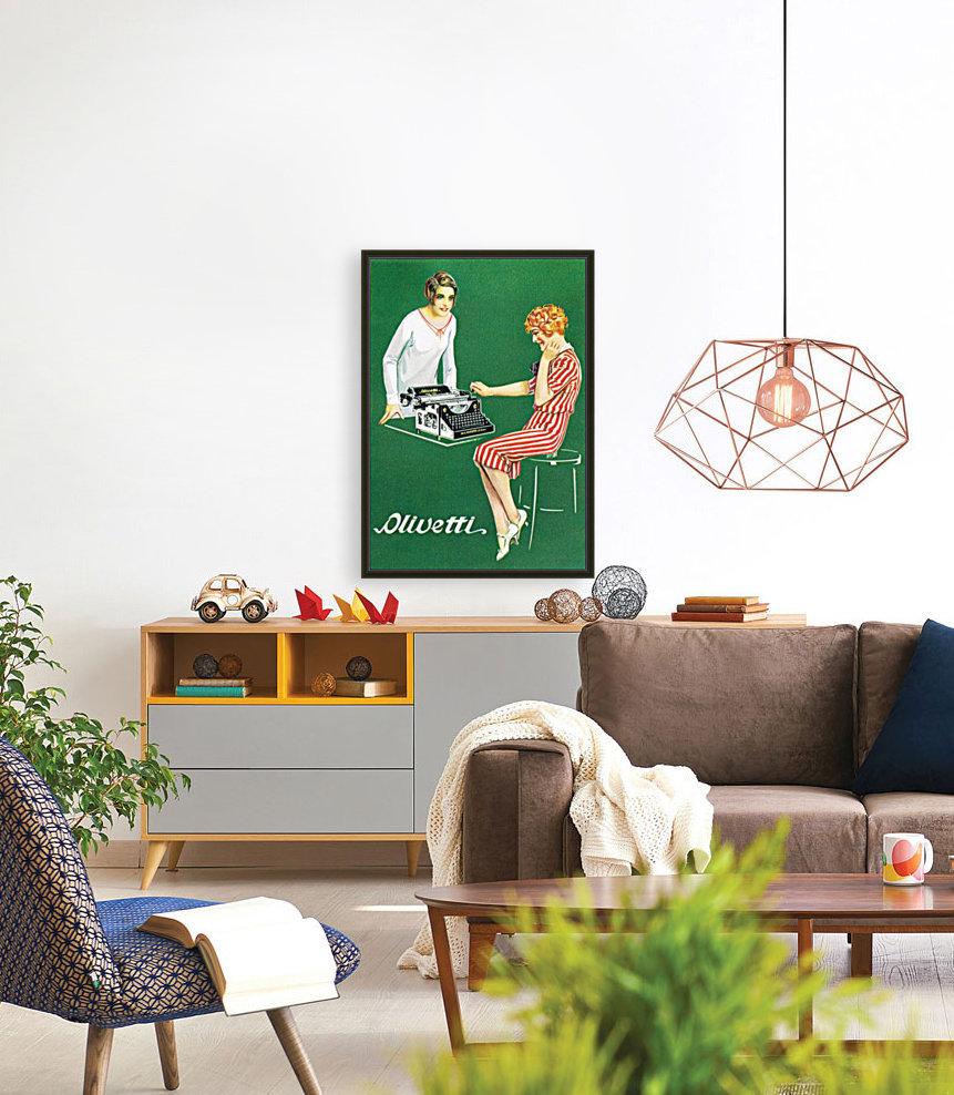 Olivetti poster  Art