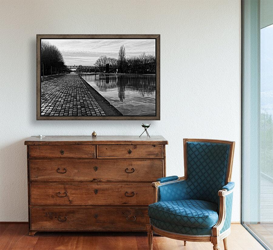 Ourcq canal  Art