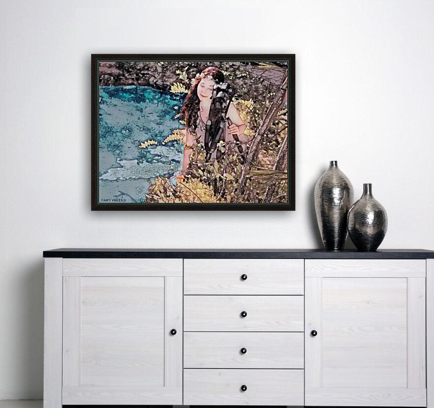 FAIRY AND THE LAKE - Art-Photo  2-4  Art