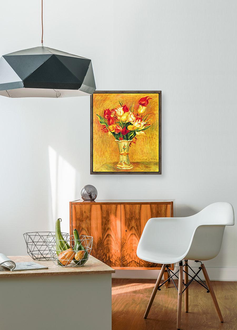 Tulips in a Vase  Art