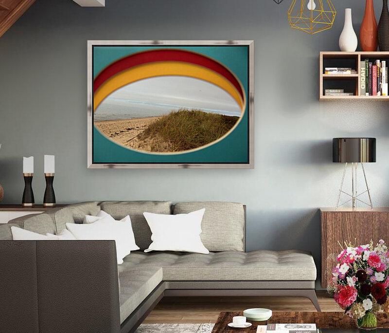 Absorbed-in-Ocean  Art