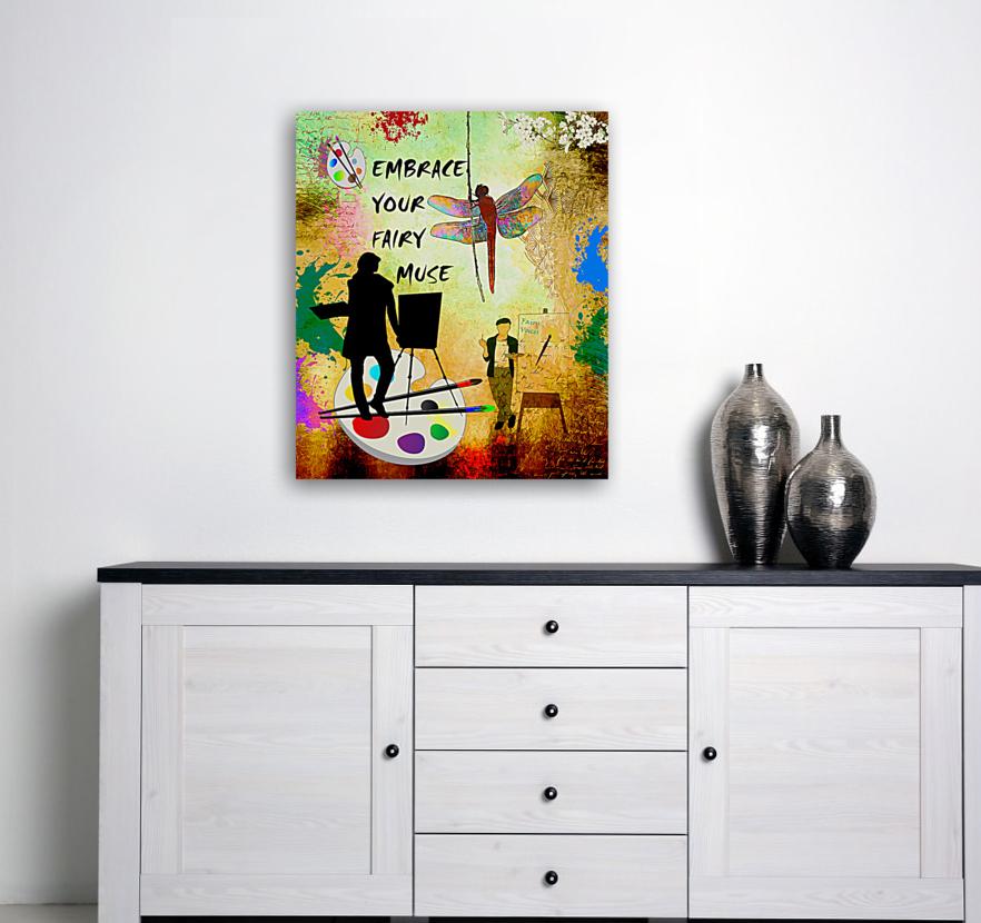 EMBRACE YOUR FAIRY MUSE -ART-For Painter Artist  Art