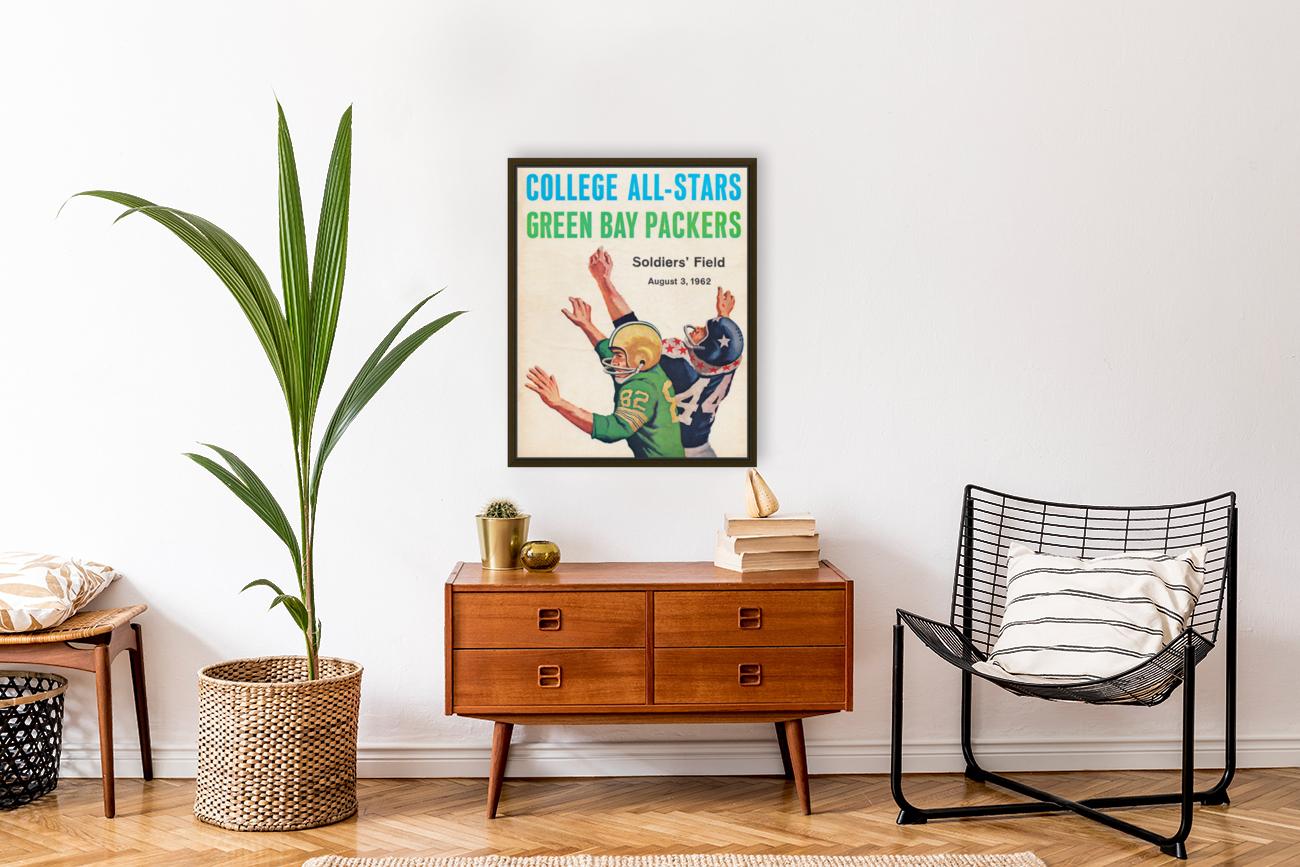 1962 Green Bay Packers vs. College All-Stars  Art