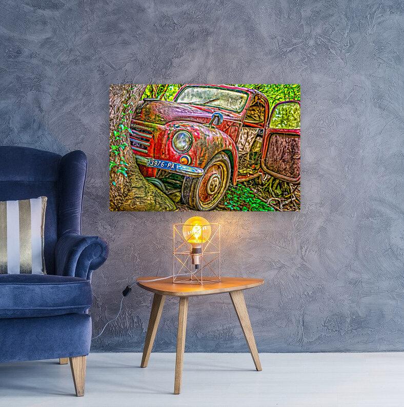 Old Pickup  Art