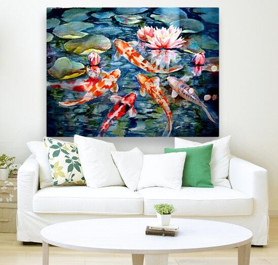 Koi Pond  Art