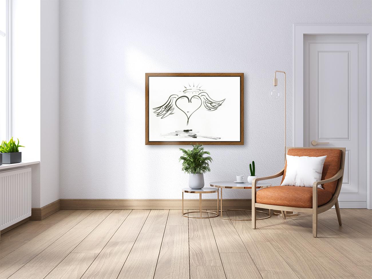 2020 heart angel  Art