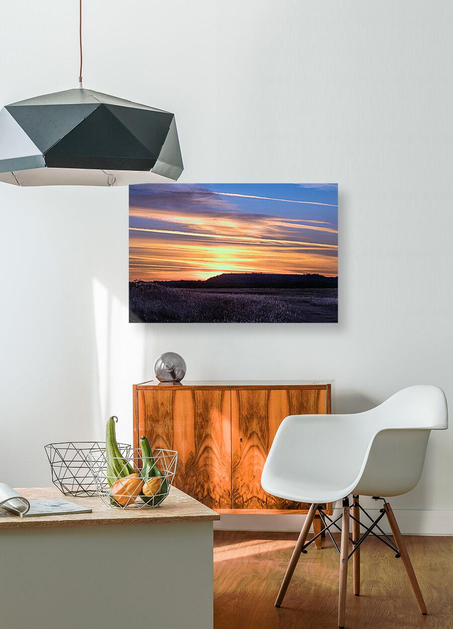 Table Top Mountain Sunset  Art