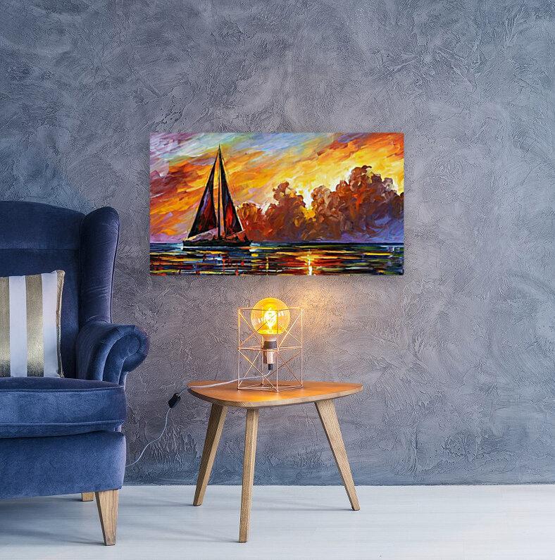 Golden Sails  Art