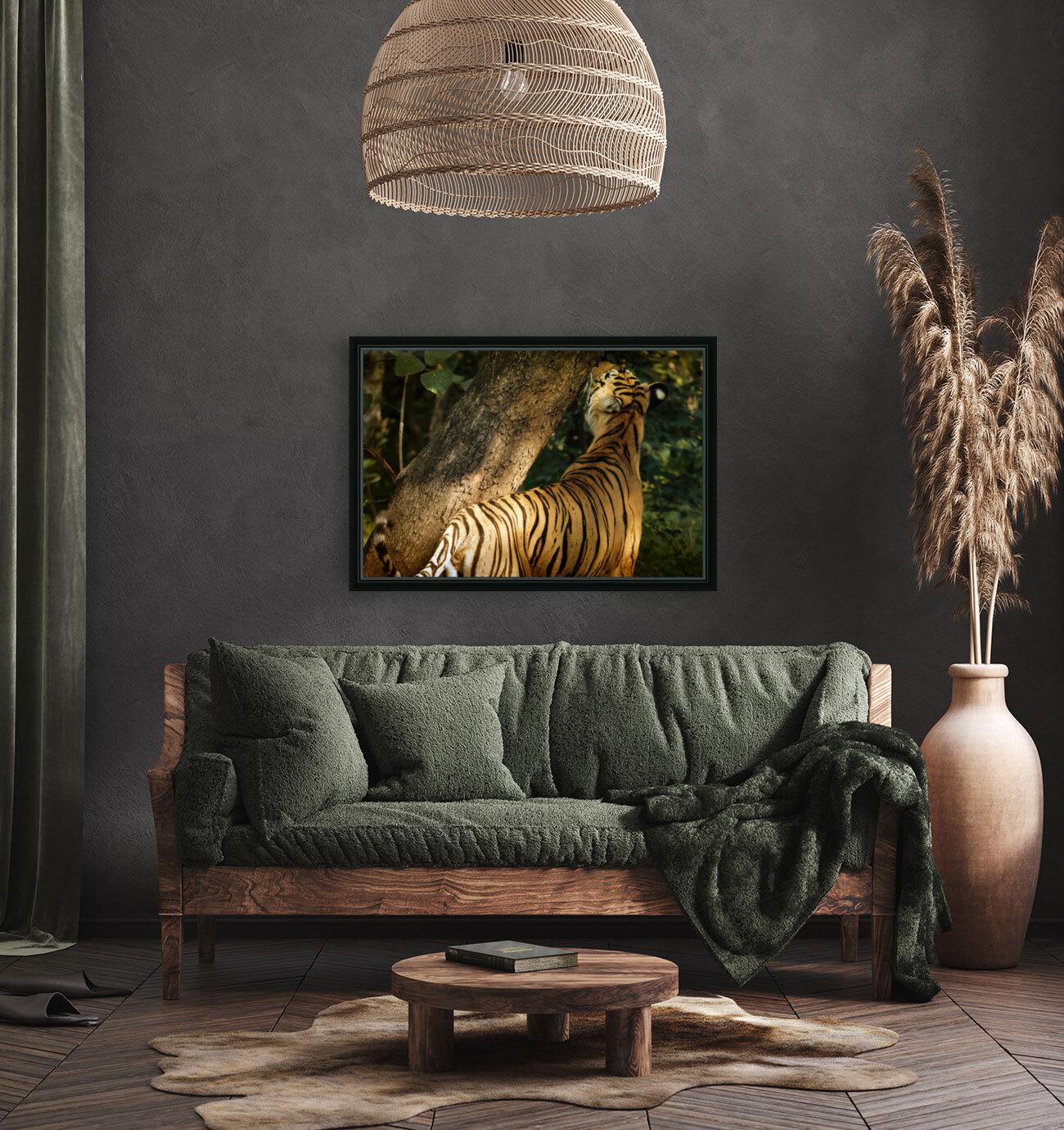 Indian Tiger  Art