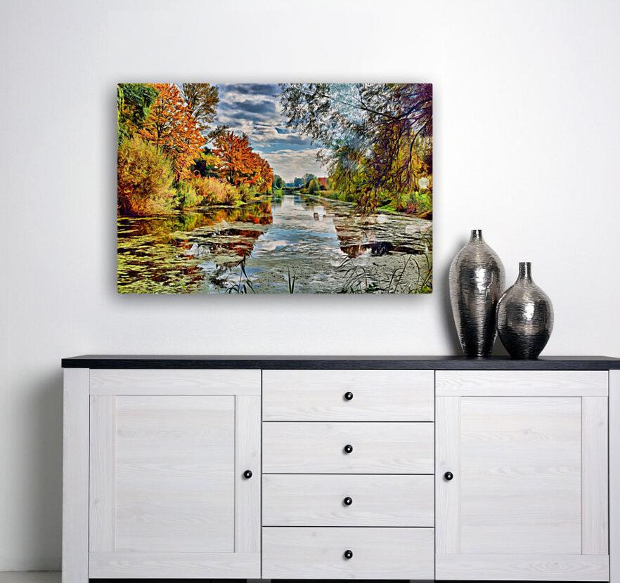 Autumn River  Art